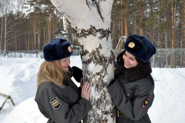 ロシアの可愛い警官11