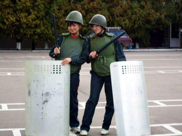 ロシアの可愛い警官17