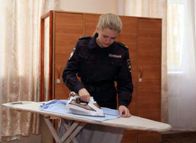 ロシアの可愛い警官19