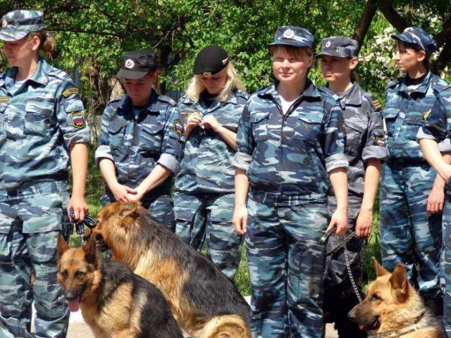ロシアの可愛い警官9