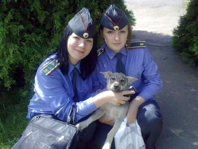 ロシアの可愛い警官5