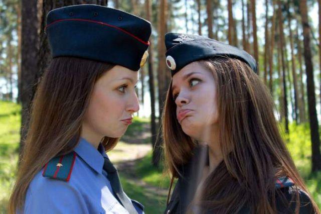 ロシアの可愛い警官8