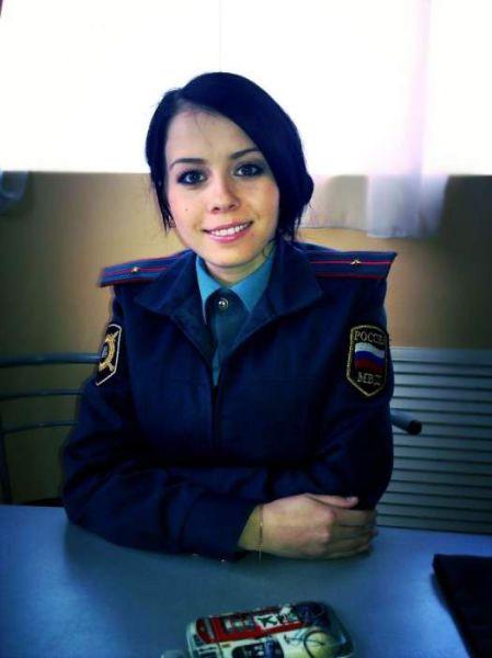 ロシアの可愛い警官18