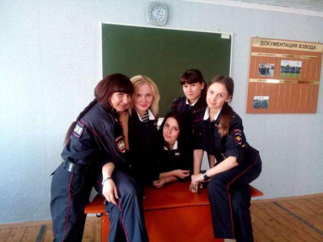 ロシアの可愛い警官14