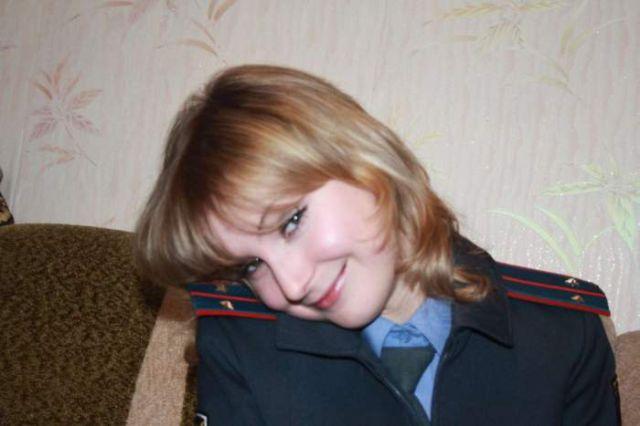 ロシアの可愛い警官4