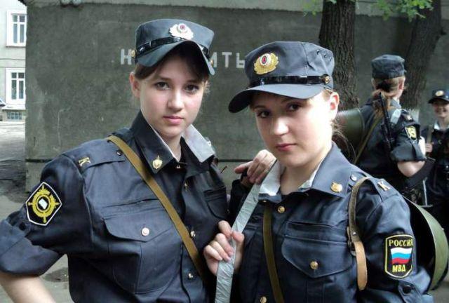 ロシアの可愛い警官6