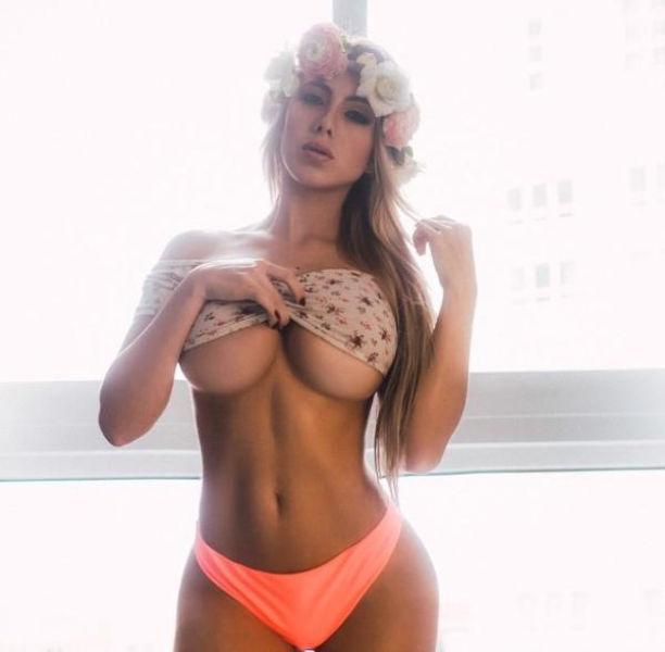 巨乳ガールの下乳の魅力 3