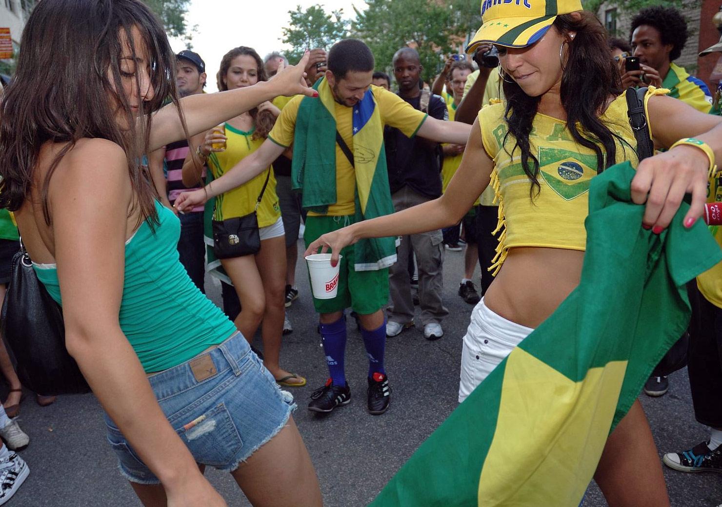 ブラジル美女 - ワールドカップ - サッカーサポーター 20