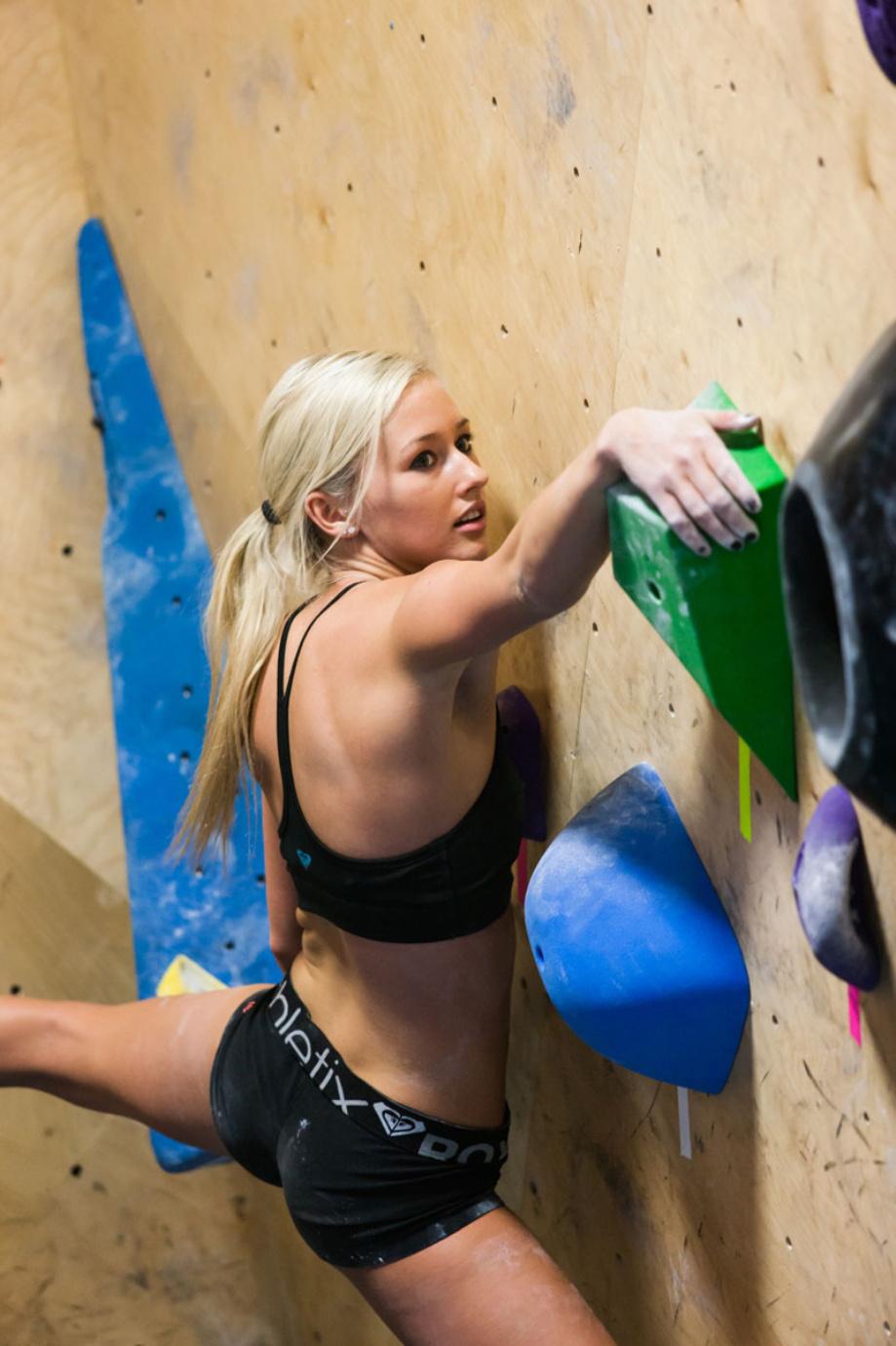 自分一つの体を使って登っていくスポーツ 58