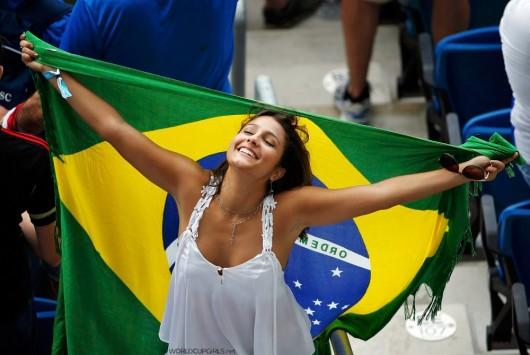ブラジル美女 - ワールドカップ - サッカーサポーター 5