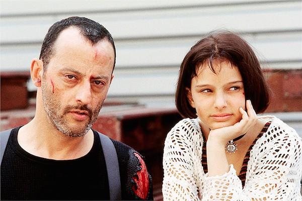ジャンレノとナタリーの2ショット写真