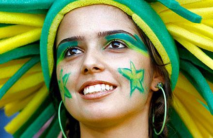ブラジル美女 - ワールドカップ - サッカーサポーター 27