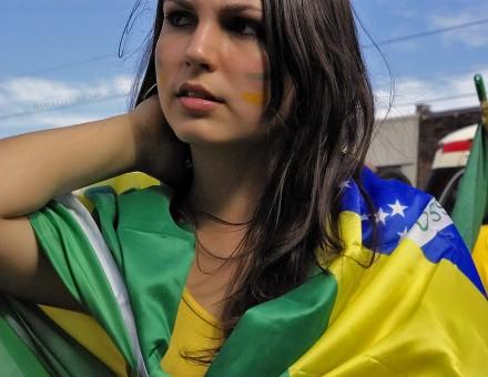 ブラジル美女 - ワールドカップ - サッカーサポーター 23