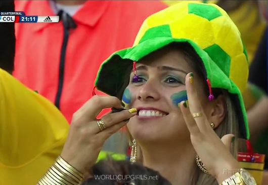 ブラジル美女 - ワールドカップ - サッカーサポーター 16