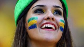 【画像】ブラジルの美女サポーター!サッカーワールドカップの海外美女!