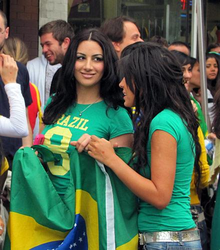 ブラジル美女 - ワールドカップ - サッカーサポーター 22