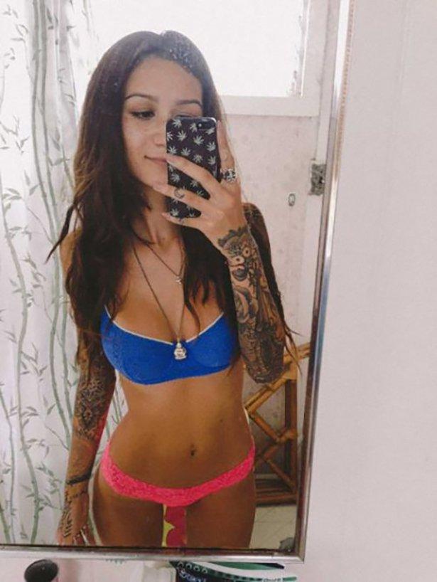 タトゥー入れてる外国人の女の子画像 28