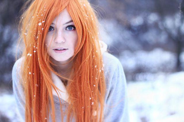 redheads 赤毛が可愛いキュートな海外の女の子 52