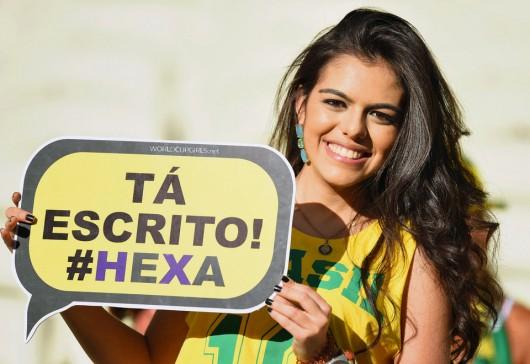 ブラジル美女 - ワールドカップ - サッカーサポーター 14