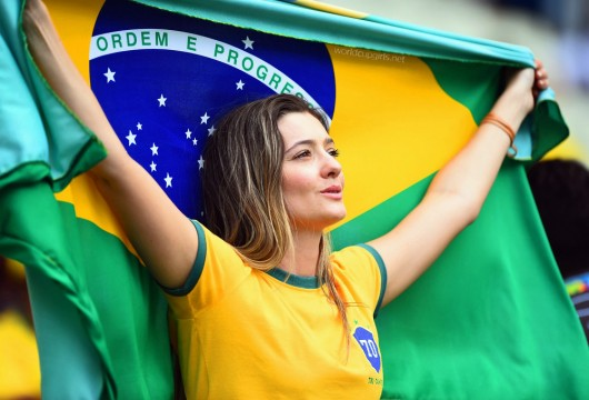 ブラジル美女 - ワールドカップ - サッカーサポーター 13