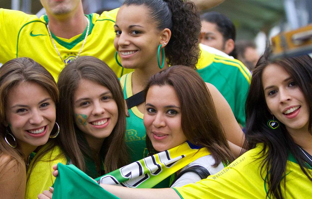 ブラジル美女 - ワールドカップ - サッカーサポーター 25