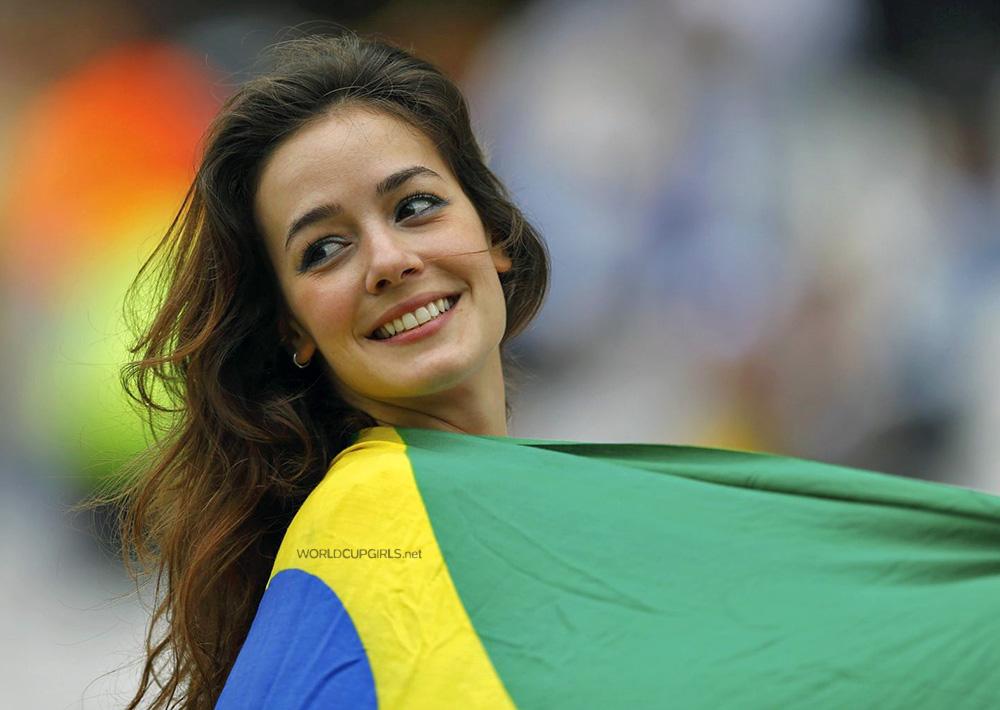 ブラジル美女 - ワールドカップ - サッカーサポーター 7