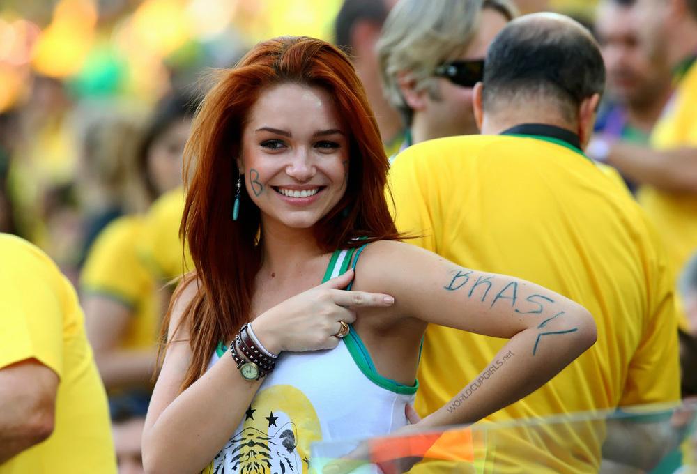 ブラジル美女 - ワールドカップ - サッカーサポーター 8