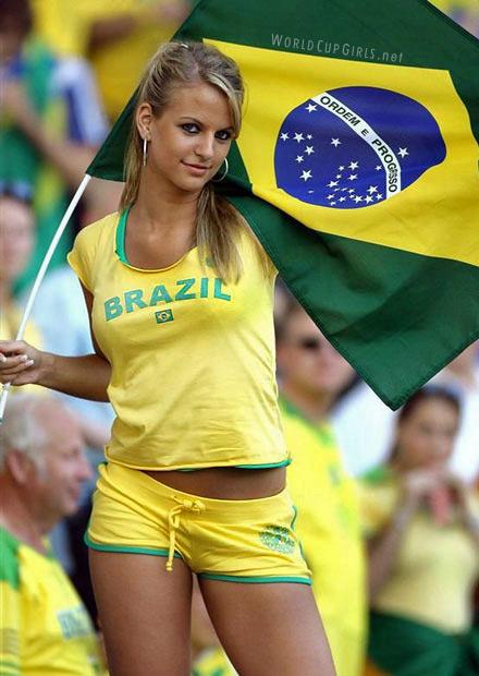 ブラジル美女 - ワールドカップ - サッカーサポーター 26