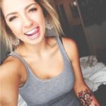 タトゥー(刺青)な海外の女の子!タトゥーデザイン画像一覧