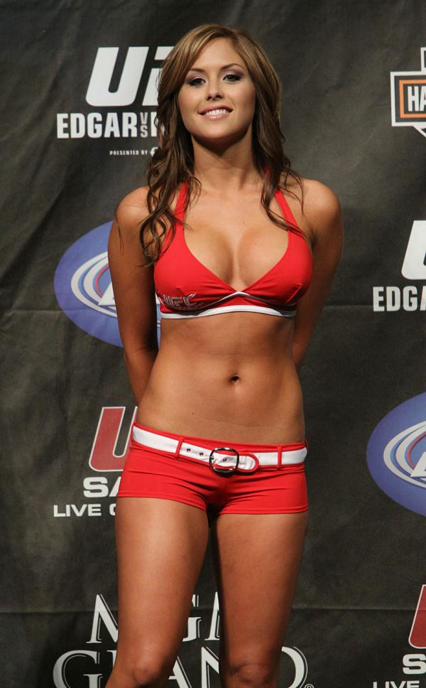 UFCリングガール Brittney Palmer