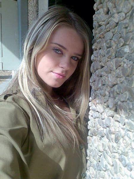 イスラエル国防軍の女性兵士たち
