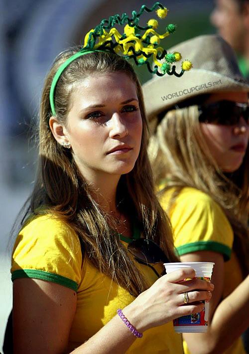 ブラジル美女 - ワールドカップ - サッカーサポーター 6