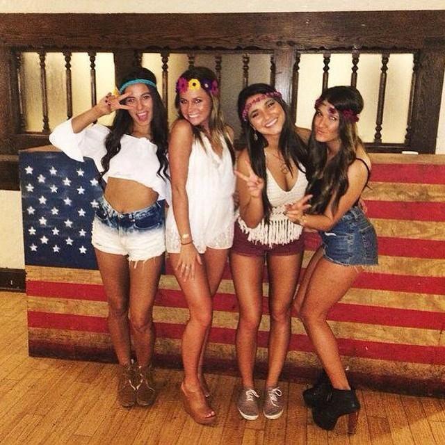 海外の可愛い女子学生 16