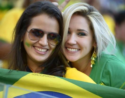 ブラジル美女 - ワールドカップ - サッカーサポーター 11