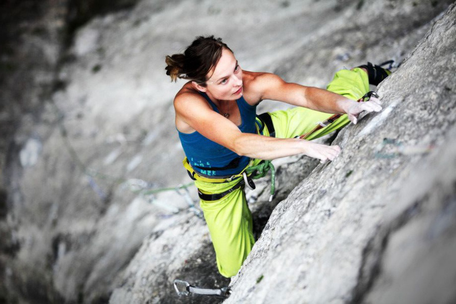 岩壁登攀(がんぺきとうはん)と呼ばれる登山