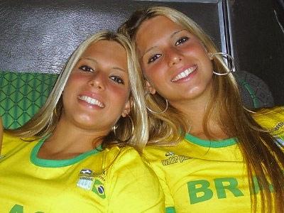 ブラジル美女 - ワールドカップ - サッカーサポーター 28