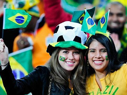 ブラジル美女 - ワールドカップ - サッカーサポーター 24
