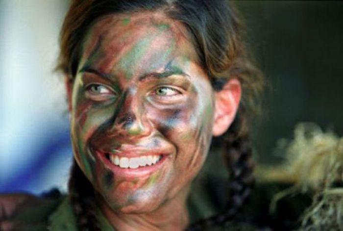 イスラエル女性軍人 7