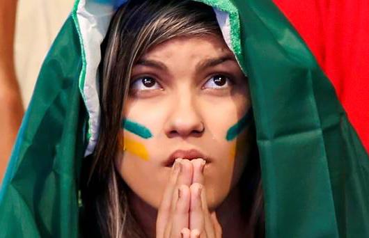 ブラジル美女 - ワールドカップ - サッカーサポーター 12