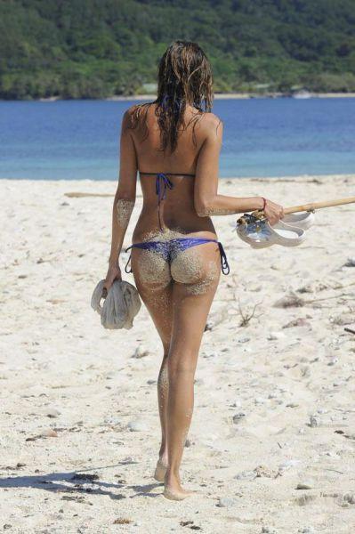 釣りが大好きな釣り女子。アウトドア美人 6
