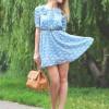 極上の白人美女のドレス姿の画像!ミニスカ太ももがエロイ